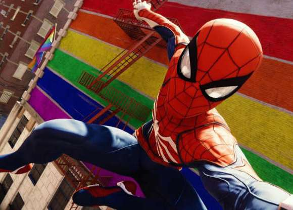 PS4's 'Marvel's Spider-Man' Includes LGBTQ Pride Flags, Imagery