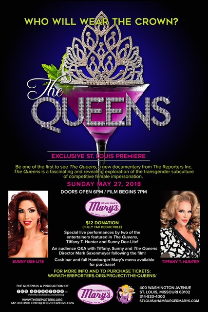 TheQueens St Louis Promo Flyer